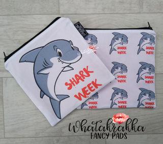 Shark Week - Zippy Wet Bag