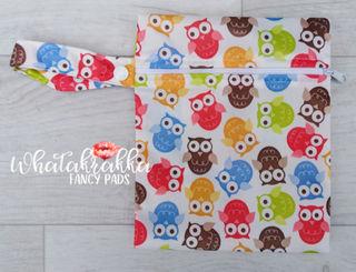 Small Owl Wet Bag