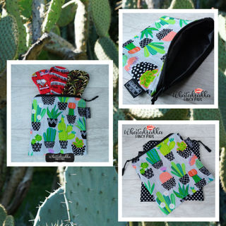 Cactus Zippy Bag