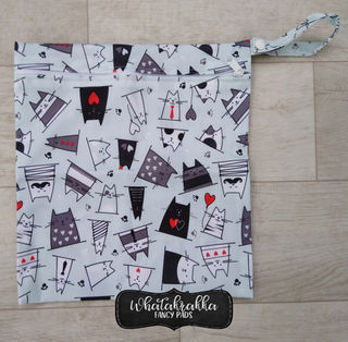 Cute Cats - Basic Wet Bag Large