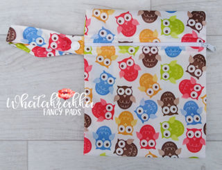 Small Owl Wet Bag