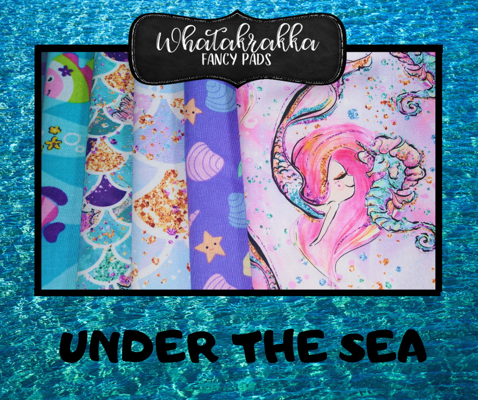 same of fabrics for the next cloth pads restocking of Whatakrakka Fancy Pads